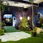 Jardín para evento El Hobbit